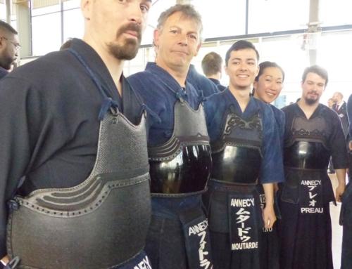 Championnats de france Kendo Honneur Orléans 2019